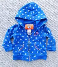 True Religion Toddler Unisex 12-18 Months Blue Star Sweatshirt Hoodie Jacket