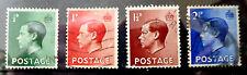 Gb Keviii 1936 set Sg457-60 - definitive set