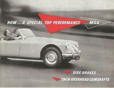 MG  Folder    1958  MGA  Twin Cam Roadster And  Coupe