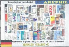 COLLEZIONE DEL MONDO - LOTTO GERMANIA 3 (POST 1983) - 108 PEZZI DIFFERENTI