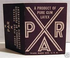 Par X Condom Pack Sleeve Chandler Dist St Louis Mo