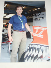 Luis Perez Sala SIGNED Portrait Photo, F1 HRT Sporting Director, Ex F1 Minardi