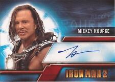 """Iron Man 2 - A2 Mickey Rourke as """"Ivan 'Whiplash' Vanko"""" Autograph Card"""