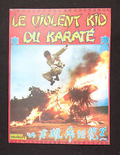 LE VIOLENT KID DU KARATE photo scenario film 1970s KUNG FU karaté