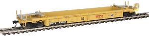 Walthers HO Scale Thrall Rebuilt 40' Well Car TTX/DTTX #53298 (Forward Thinking)
