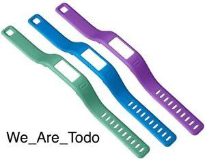 Genuine - Garmin Vivofit Bands Small, 3 Pack, Purple, Teal & Blue, 010-12149-01