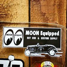 MOON SUPPLY DECAL RAT HOT ROD CUSTOM GASSER DRAG RACING NHRA SCTA 1932 FORD CAR