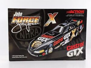 Action JOHN FORCE 10X Champion 2001 Mustang FUNNY CAR 1:24 Diecast
