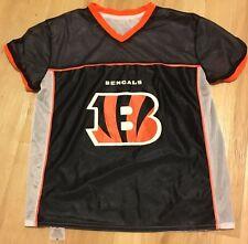 Cincinnati Bengals NFL Flag Football Reversible Jersey Size Adult Medium Play 60