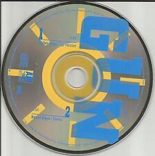 GUN Better Days w/ RARE REMIX runs OVER 6 MINUTES PROMO DJ CD single 1989 USA
