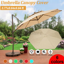 3x3m Garden Umbrella Canopy Cover Replacement For Yard Patio Umbrella Gazebo  K