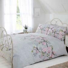 Linge de lit et ensembles gris à motif Floral 200 cm x 200 cm