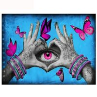 DIY 5D Full Drill Diamond Painting Embroidery Cross Stitch Kits Eyes Art