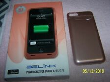 BELINK External Battery Charger Power Bank Case For iPhone 6 6S 7 8 - ROSE GOLD
