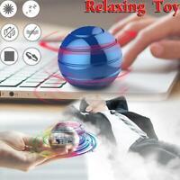 Desktop Decompression Rotating Spherical Gyroscope Kinetic Desk Toy Adult Favor