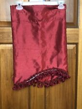Better Home And Garden Valance Red 54x20