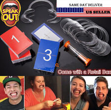 Christmas Gift Hot Funny Speak Out Board Game Mouthguard Challenge Game