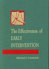 The Effectiveness of Early Intervention