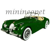 BBURAGO 18-22018 1951 JAGUAR XK 120 ROADSTER 1/24 DIECAST MODEL CAR GREEN