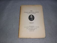 Chase National Bank Chairman Board of Directors Report Shareholders Book 1940