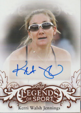 Kerri Walsh Jennings 2015 Leaf Legends of Sport autograph auto card BA-KWJ