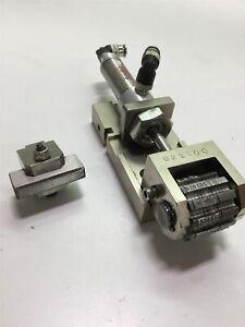 Wrap-Aid Custom Fabricated 6 Digit Rotational Pneumatic Machine Numbering Head