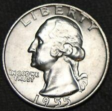 Bu 1955-D Washington Quarter - #21316