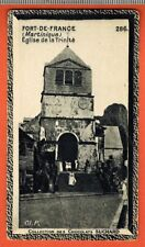 Image-Chromo-Fort de France-Martinique-Eglise Trinité-Chocolat Suchard -Réf.49