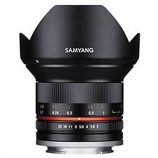 Samyang 12 mm F2.0 Ncs Cs ultra grand angle: Micro Quatre Tiers: Noir