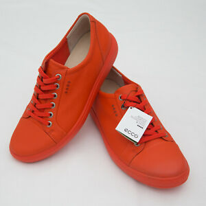 ECCO Womens hydromax Golf Shoes size 39 Extra Width Low ORANGE spikeless EDTS