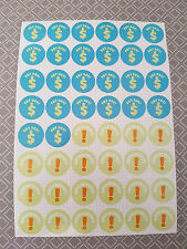 PAY DAY and Appointment EVENT REMINDER Sticker Sheet For Calendar Planner