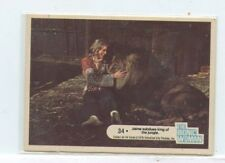 1976 Donruss The Bionic Woman #34 Jamie Subdues king of the jungle
