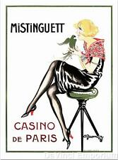 Mistinguett Casino de Paris Poster Fine Art Lithograph Charles Gesmar COA S2