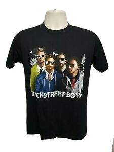 2010 Back Street Boys This is Up Tour Adult Medium Black TShirt