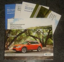2014 Subaru XV Crosstrek & Navigation Owners Manual