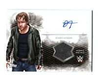 WWE Dean Ambrose 2015 Topps Undisputed Autograph Relic Card DWC