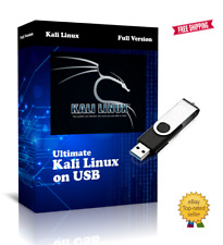 More details for kali linux 64bit 2021 edition on bootable usb pen 600+ hacking tools
