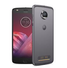 Motorola Moto Z2 Play Dual SIM, Grigio Lunare, 64GB+4GB RAM, Garanzia Italia