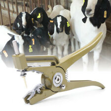 Cattle Ear Tag Pliers Animal Sheep Livestock Marking Hole Plier Tagger Ear Tag