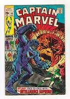 CAPTAIN MARVEL 16  FN/VF (7.0) NEW UNIFORM-(MAR-VEL), RONAN APP (SHIPS FREE)*