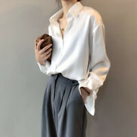 Women's loose shirt is slim and elastic