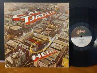 Cal Tjader - Here Claire Fischer 1979 Latin Jazz Vinyl LP VG+!