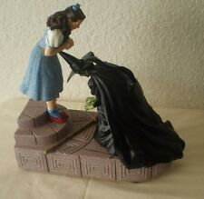 Wizard of Oz 75th Anniversary Wicked Witch w Dorothy Ruby Red Slippers Figurine