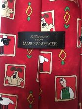Wallace And Gromit Mens Tie Cartoon Characters Fun Party Office Christmas Races