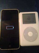 Apple iPhone 5c - 8GB and old iPod