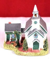 "Vintage 3"" Liberty Falls Village Americana Collection ""Pioneer's Church"" Ah108"