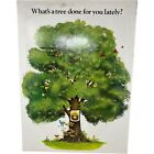 Vintage 1977 Smokey Bear What's A Tree Done For You Lately USDA 21x16 Peek A Boo