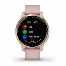 Garmin VivoActive 4S пыль розового и светло-золотые Gps Smartwatch 010-02172-31