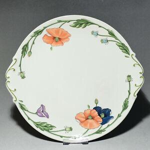 Villeroy & Boch Amapola - Runde Kuchenplatte mit Handhaben, Tortenplatte