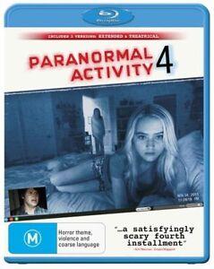 Paranormal Activity 4 (Blu-ray, 2013)